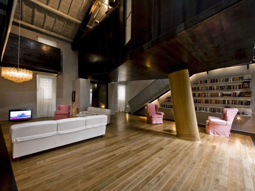 The Trastevere Loft in Rome by MdAA architects 02