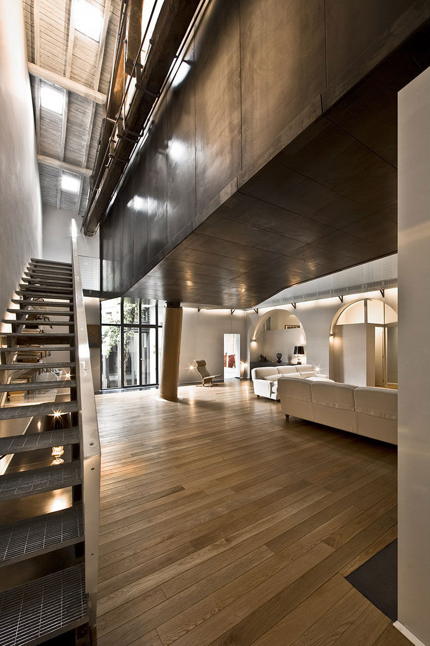 The Trastevere Loft in Rome by MdAA architects 07