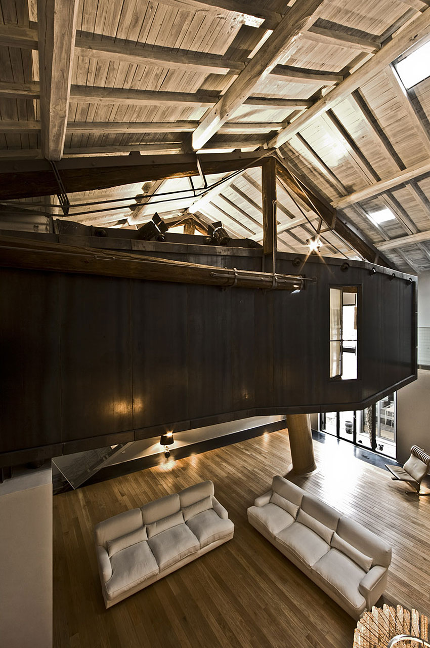The Trastevere Loft in Rome by MdAA architects 10