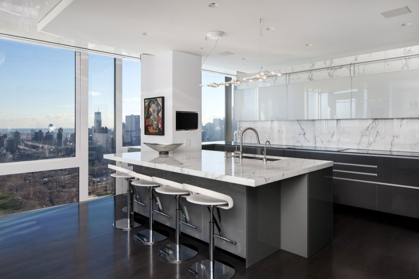 Manhattan Penthouse Architecture by Turett Collaborative Architecture 05