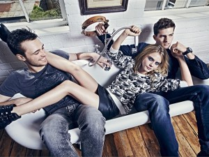 Cara Delevigne Poses For Pepe Jeans Fall 2014 Campaign