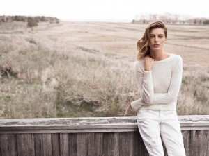 Daria Werbowy Poses For Mango Fall Winter 2014 Campaign