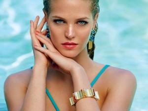 Erin Heatherton Poses For Ocean Drive July August 2014 Issue