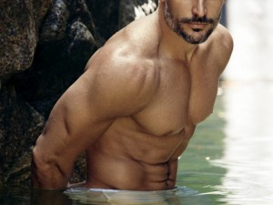 Joe Manganiello Poses For People Magazine