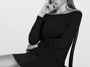 Lara Stone Stars in The Edit