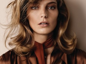 Daria Werbowy Poses For WSJ Magazine 2014