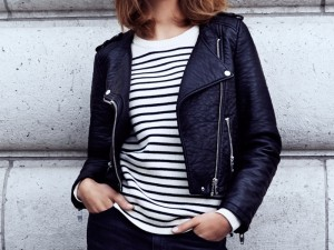 Karlina Caune Poses For H&M Fall 2014