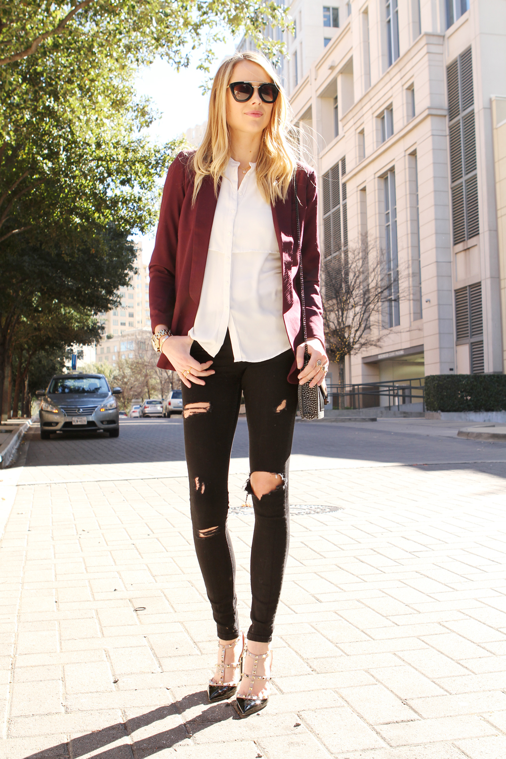 How to Incorporate Pantone Color of the Year, Marsala Into Your Outfit 1
