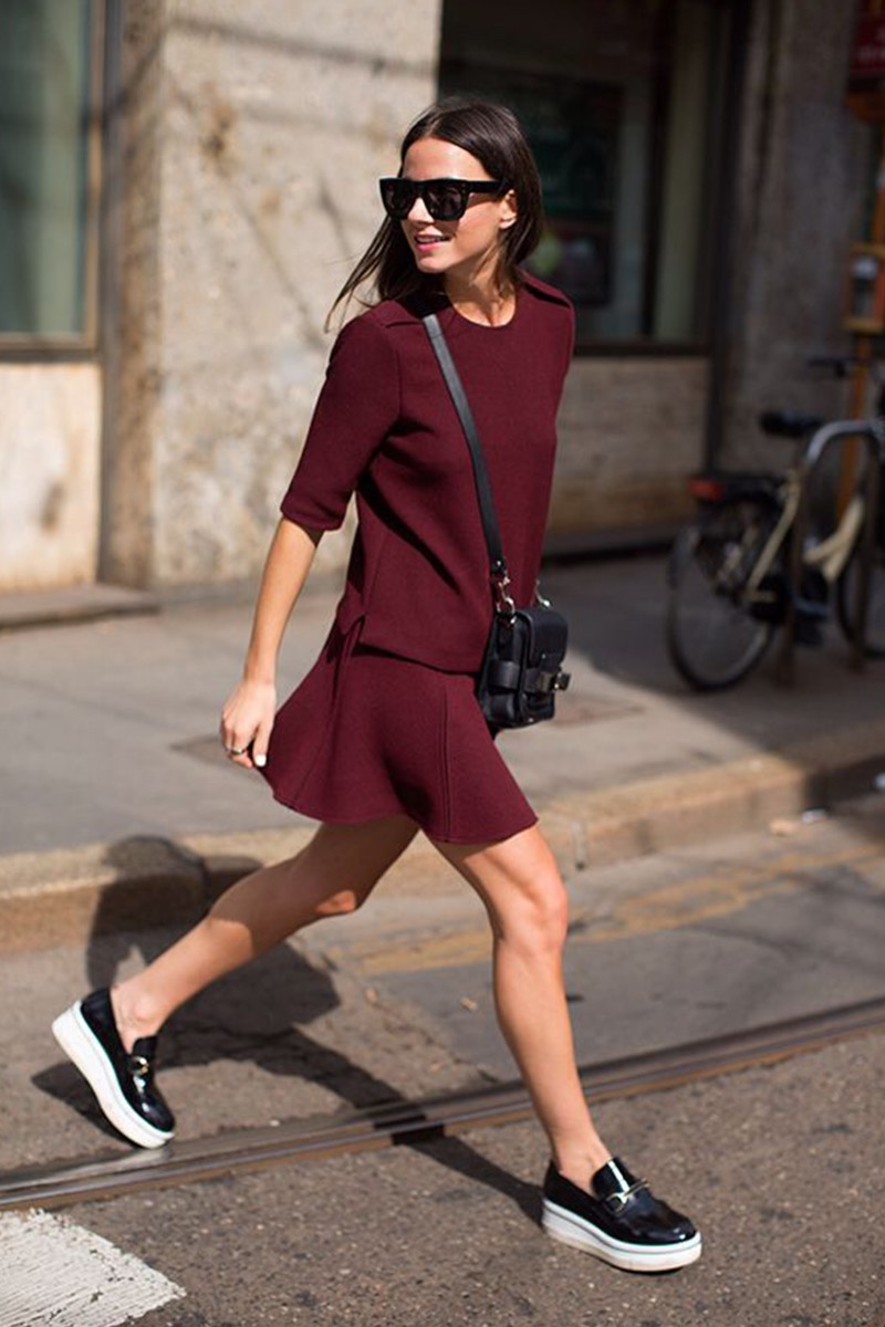 How to Incorporate Pantone Color of the Year, Marsala Into Your Outfit 3
