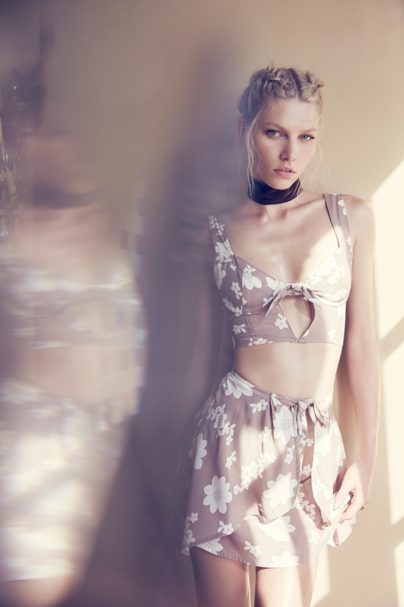Aline Weber Poses for Love & Lemon's Summer Collection 07