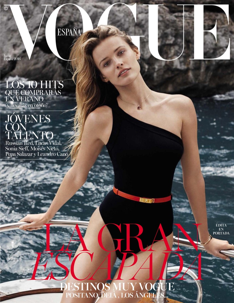 Edita Vilkeviciute Poses For Vogue Spain June 2016 06