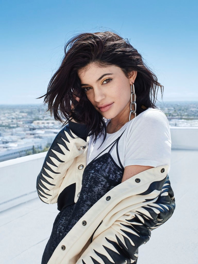 Kylie Jenner Poses For Glamour UK June 2016 05