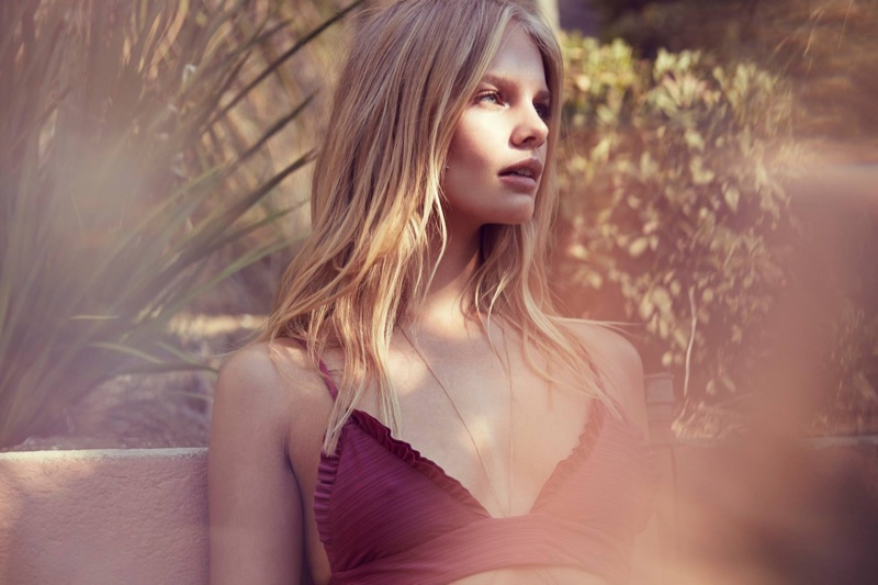 Marloes Horst Poses for Love & Lemons Summer 2016 01