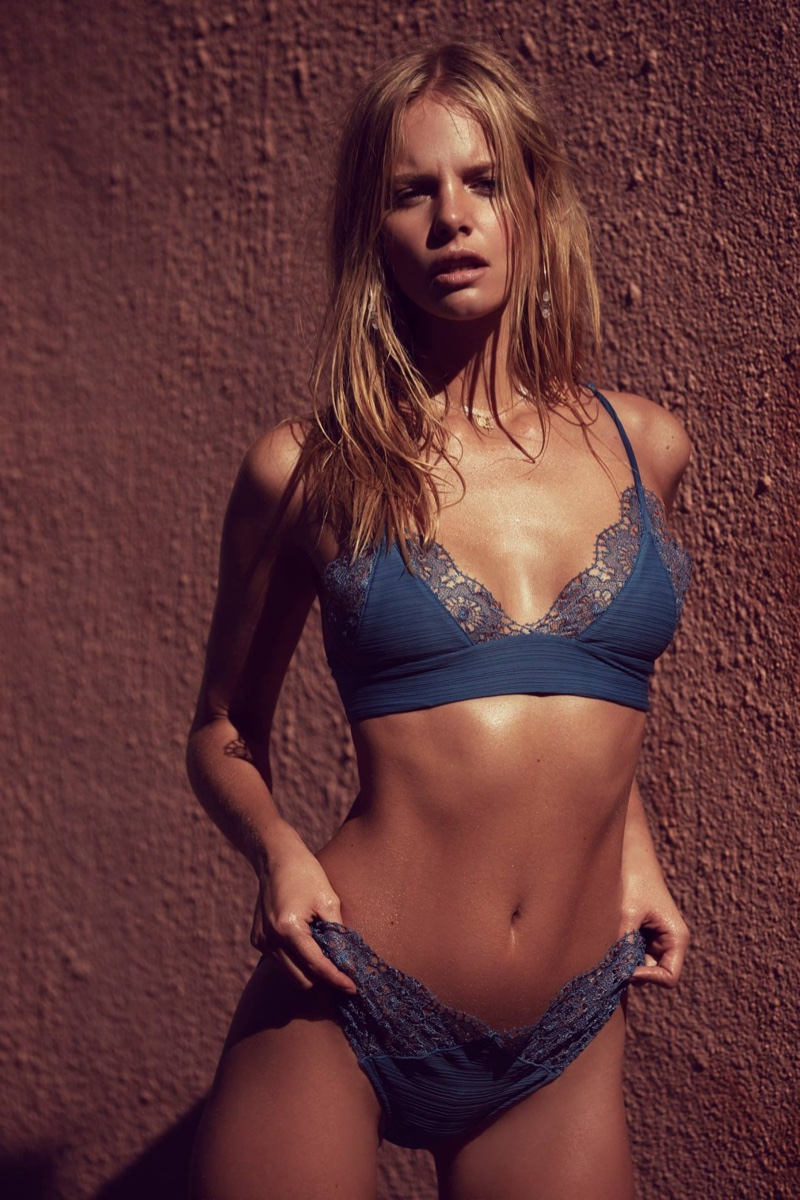 Marloes Horst Poses for Love & Lemons Summer 2016 05
