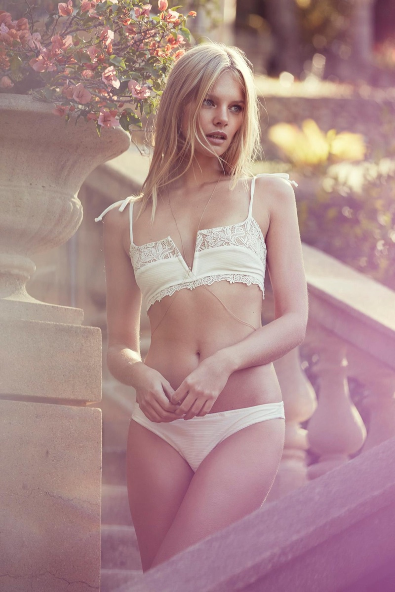 Marloes Horst Poses for Love & Lemons Summer 2016 18