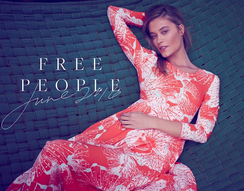 Barbara Di Creddo Poses For Free People June 2016 09