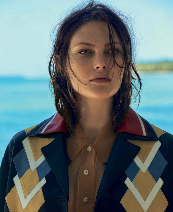 Catherine McNeil Poses For S Moda July 01