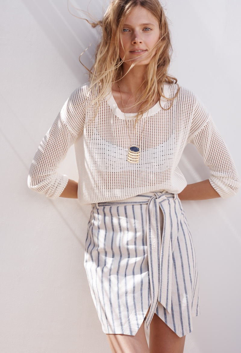 Constance Jablonski Poses For Madewell 03