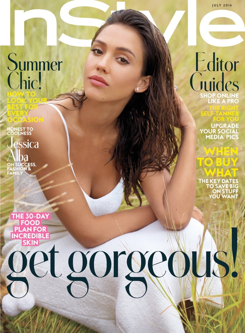 Jessica Alba Poses for InStyle July 2016 06