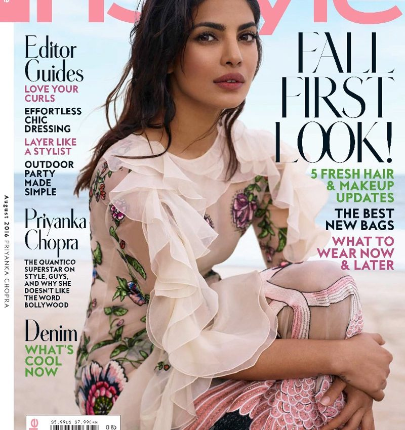 Quantico Priyanka Poses for Instyle 2016 04