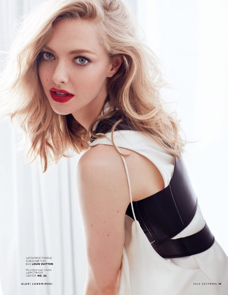 Amanda Seyfried Poses For Vogue Russia 02