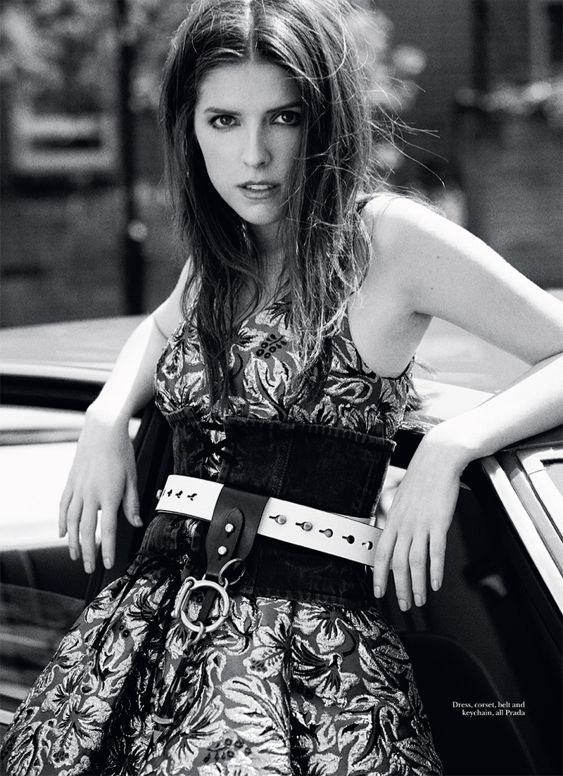 Anna Kendrick Poses For Marie Claire UK 06