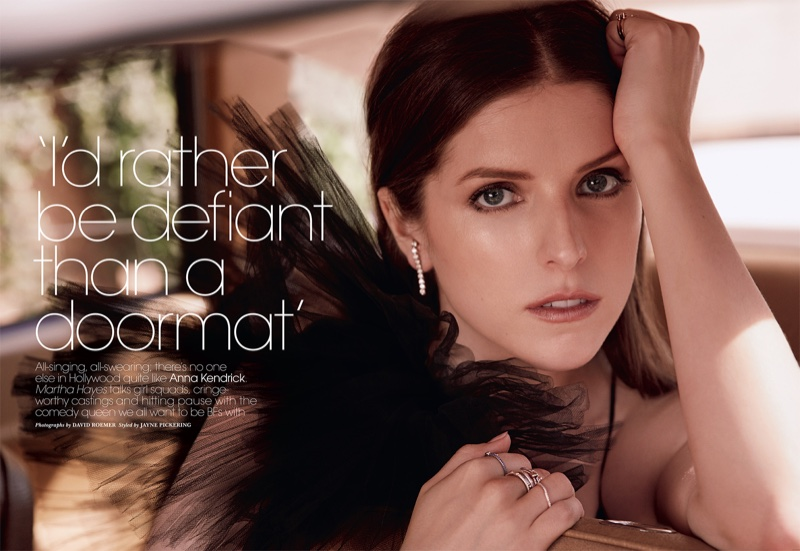 Anna Kendrick Poses For Marie Claire UK 07
