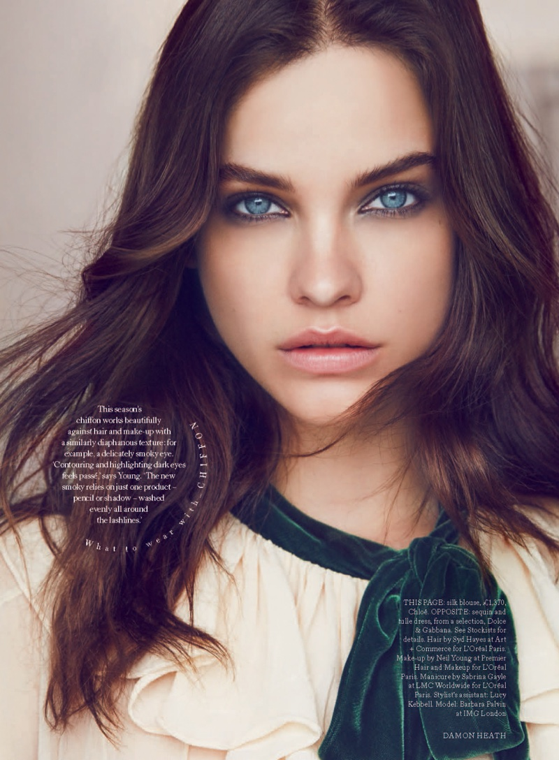 Barbara Palvin Poses for Harper's Bazaar UK 01