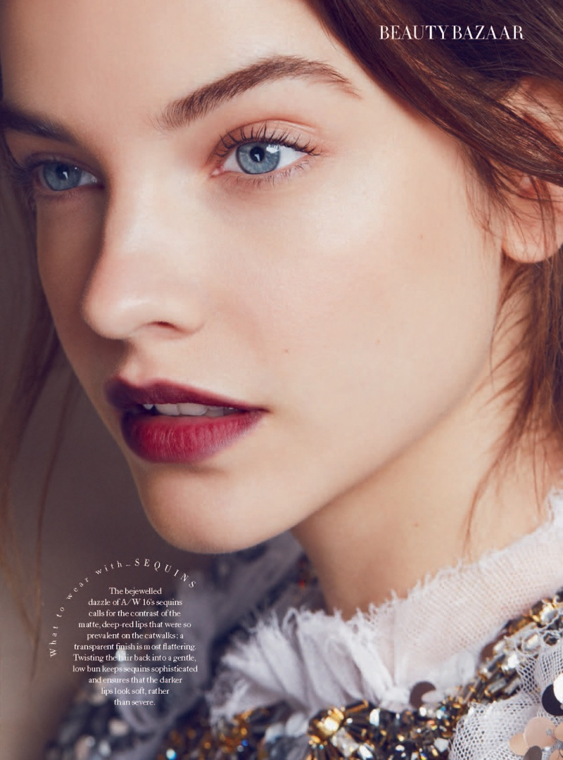 Barbara Palvin Poses for Harper's Bazaar UK 05