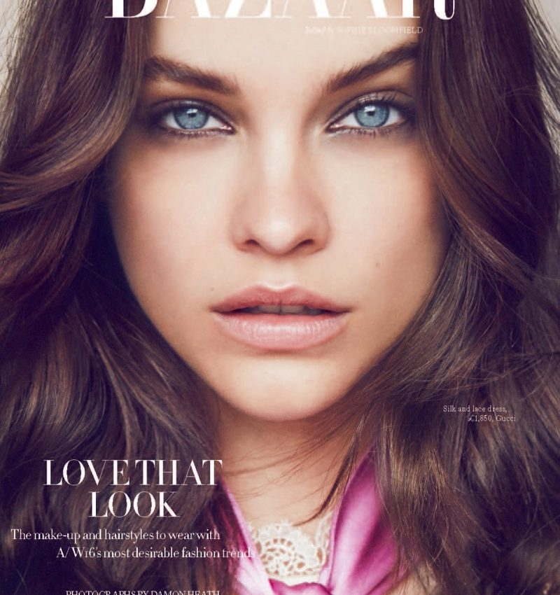 Barbara Palvin Poses for Harper's Bazaar UK 06
