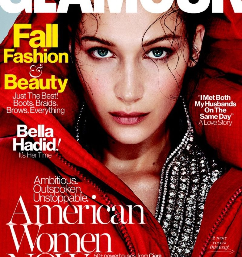 Bella Hadid Poses For Glamour September 2016 04