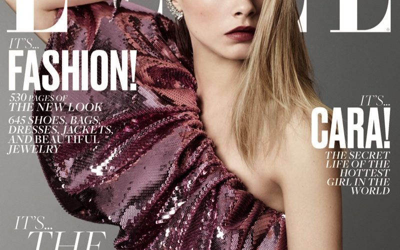 Cara Delevingne Poses For Elle's September 2016 02