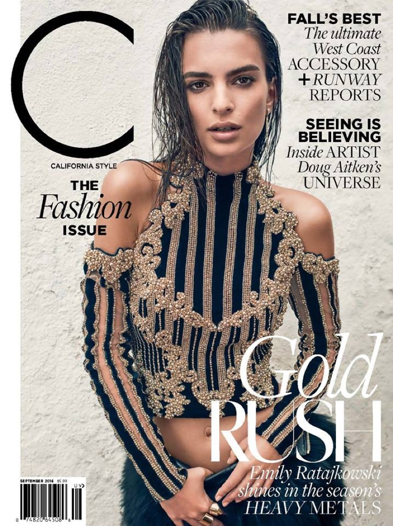 Emily Ratajkowski Poses For C Magazine 06