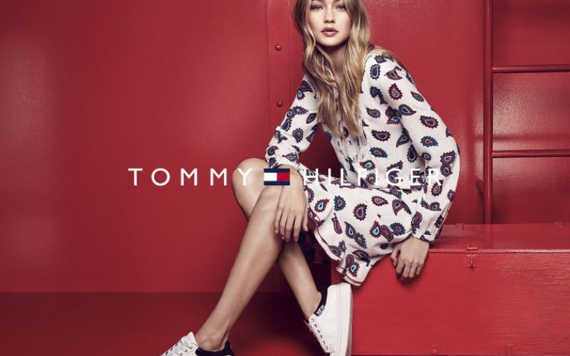 Gigi Hadid Poses For Tommy Hilfiger 2016 02