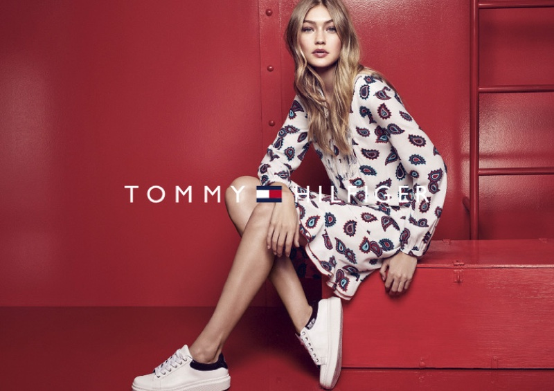 38c13bd8686c ... Gigi Hadid Poses For Tommy Hilfiger 2016 02