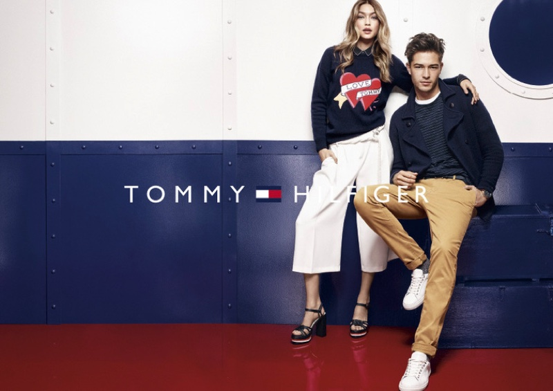 Gigi Hadid Poses For Tommy Hilfiger 2016 03