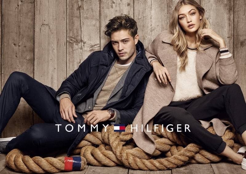 Gigi Hadid Poses For Tommy Hilfiger 2016 04