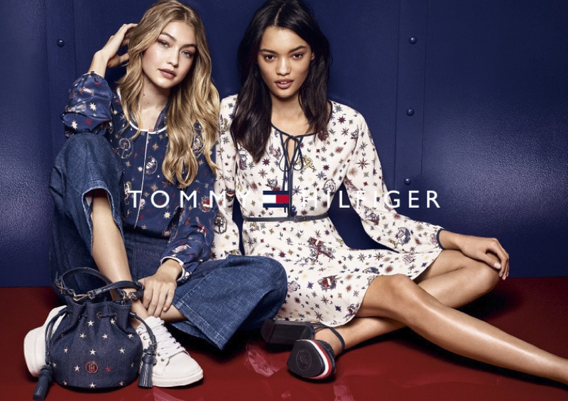 Gigi Hadid Poses For Tommy Hilfiger 2016 05