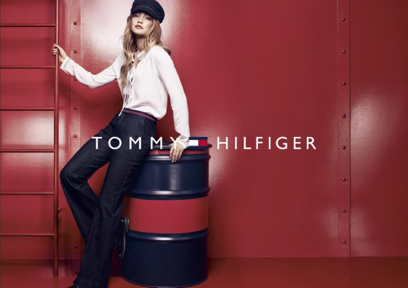 Gigi Hadid Poses For Tommy Hilfiger 2016 06