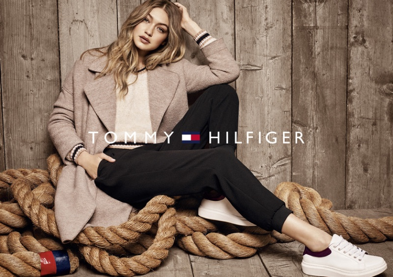 Gigi Hadid Poses For Tommy Hilfiger 2016 07