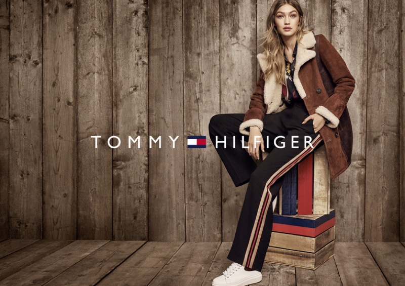 Gigi Hadid Poses For Tommy Hilfiger 2016 08
