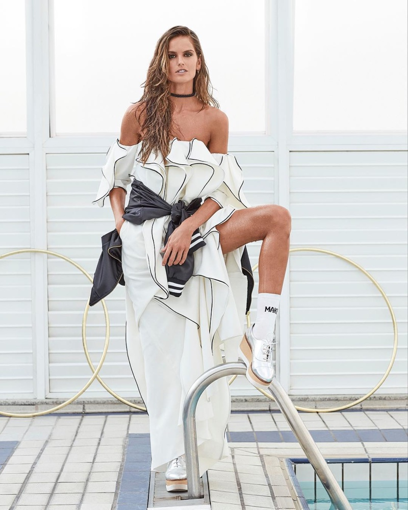 Izabel Goulart Poses For Glamour Brazil 05