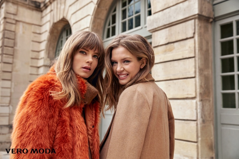 Josephine Skriver And Caroline Brasch Nielsen Poses For Vero Moda 01