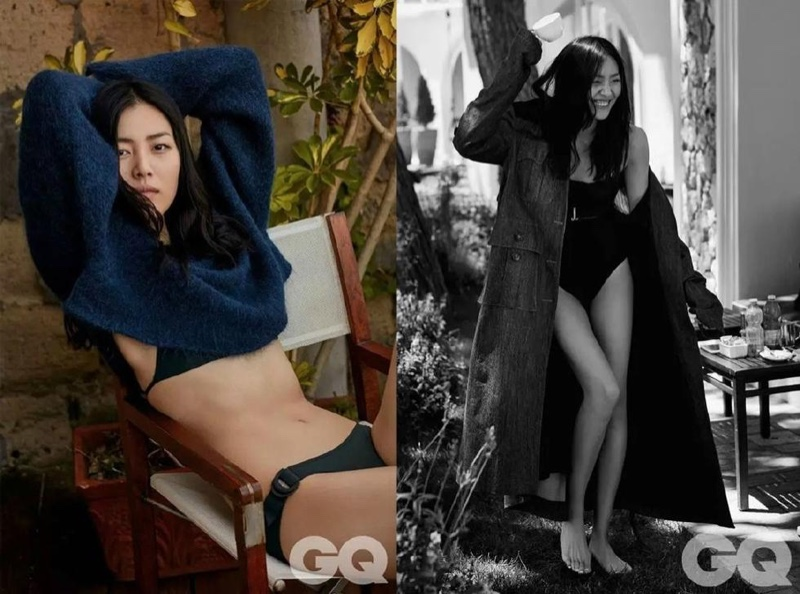 Liu Wen Poses For GQ China 03