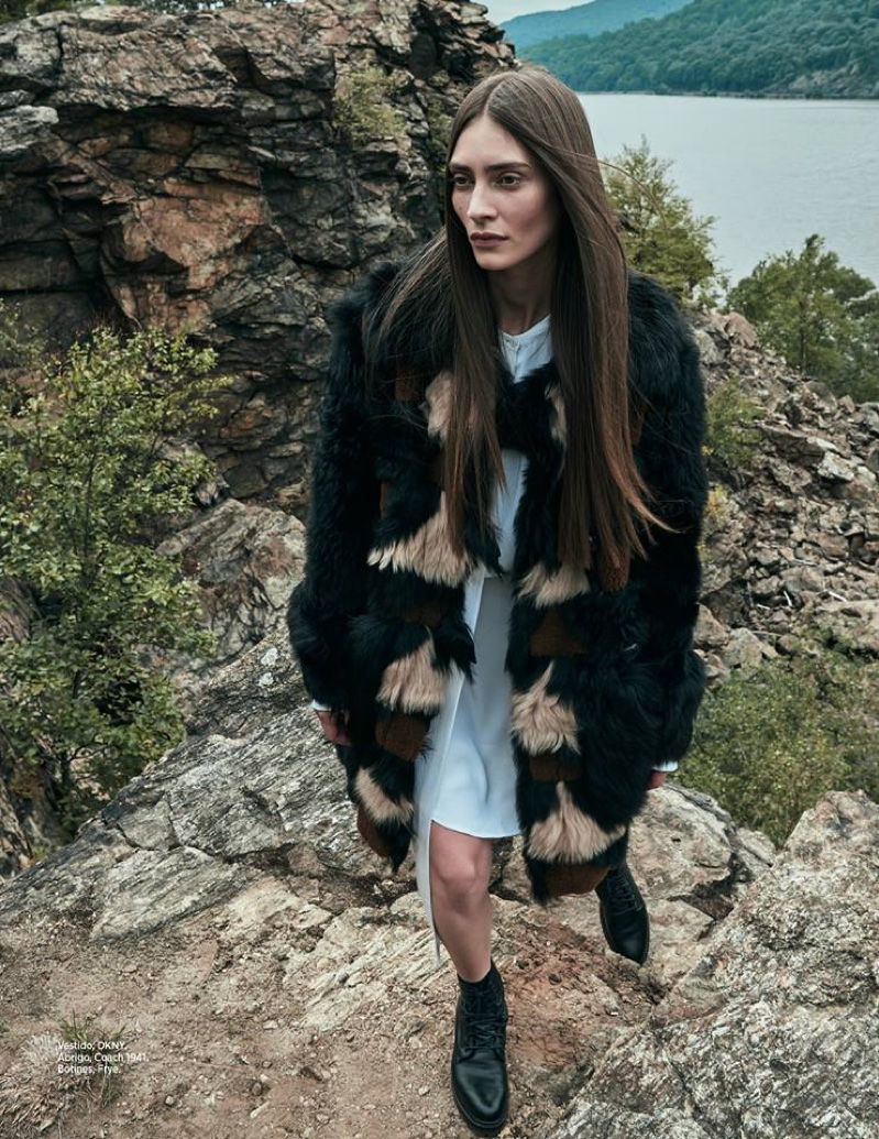 Marine Deleeuw Poses For Harper's Bazaar Mexico 05