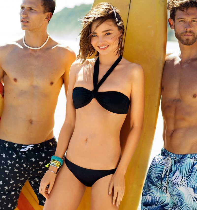 Miranda Kerr Poses For BONDS 02