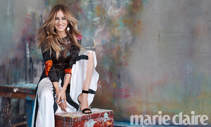 Sarah Jessica Parker Stars In Marie Claire 01