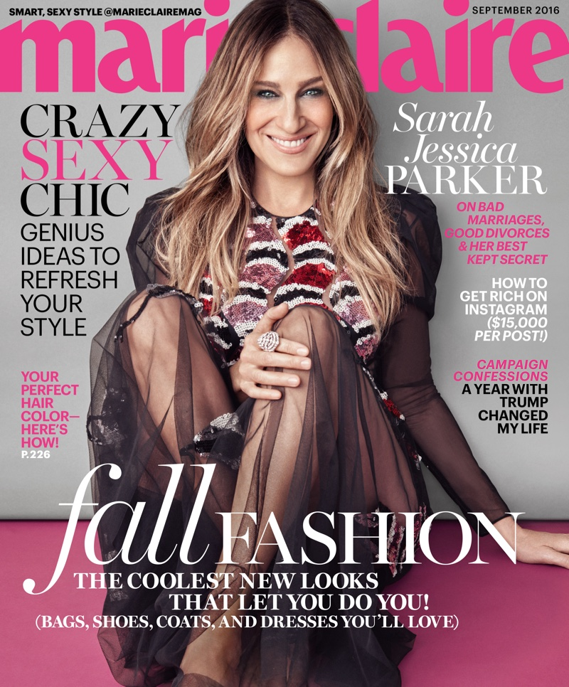 Sarah Jessica Parker Stars In Marie Claire 03