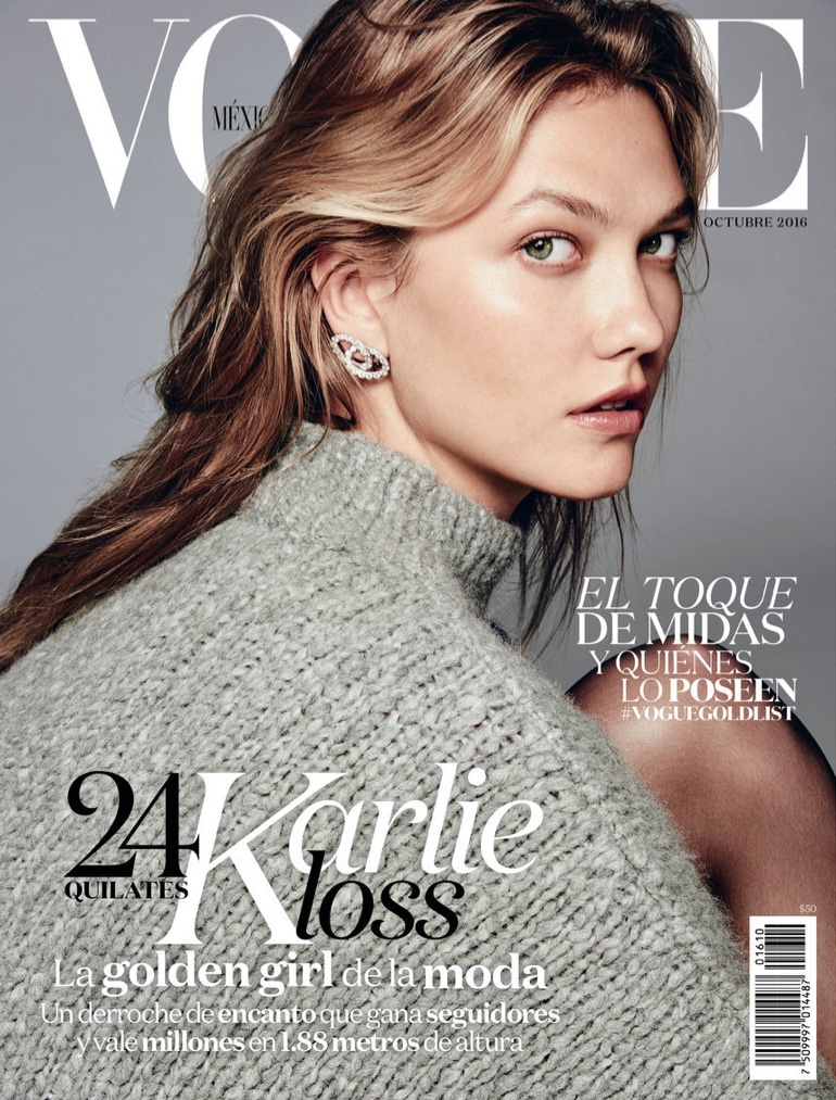 Karlie Kloss Poses For Vogue Mexico 09