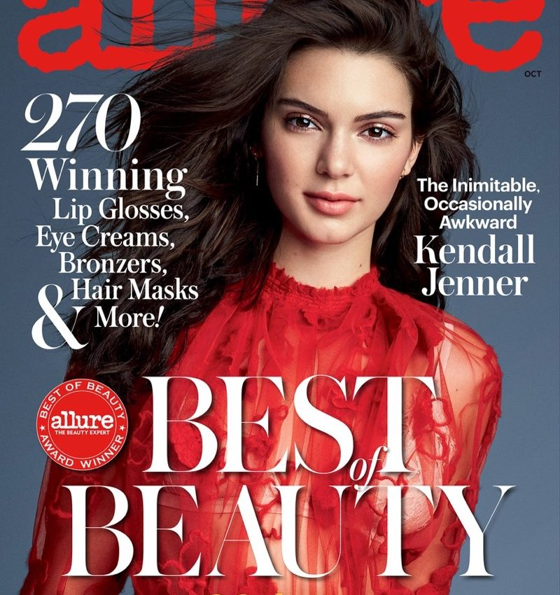 Kendall Jenner Poses For Allure 2016 03